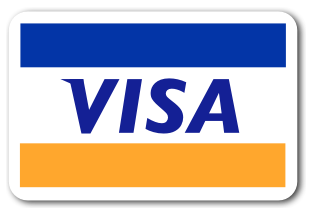 We accept Visa card payments